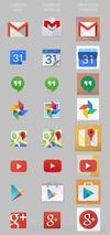 Google应用全新图标曝光:安卓4.5就用它们?
